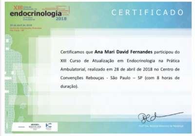 XIII Curso de Atualização em Endocrinologia na Prática Ambulatorial