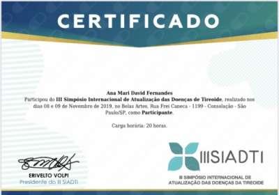 III Simpósio Internacional de Atualização das Doenças de Tireoide